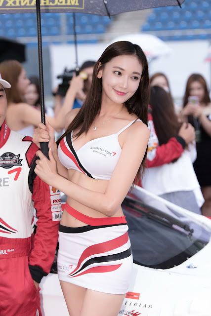 4 Moon Ga Kyung - CJ Super Race R5 - very cute asian girl-girlcute4u.blogspot.com