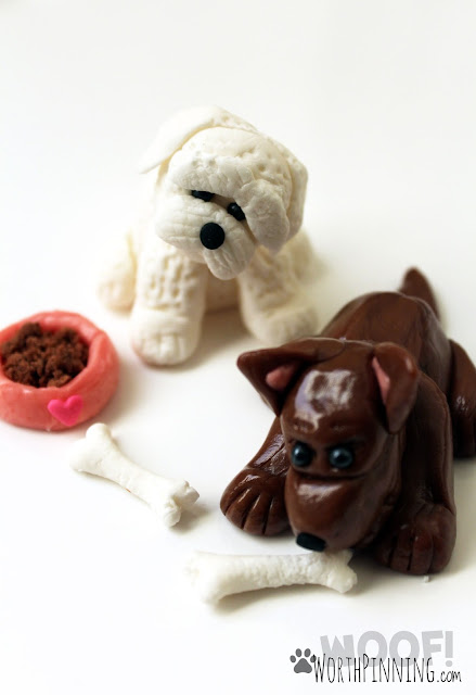 Edible Dog Cake Toppers