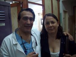 Con el Dr Hector Lanza