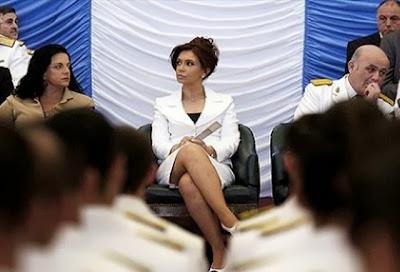 President Cristina Kirchner hot