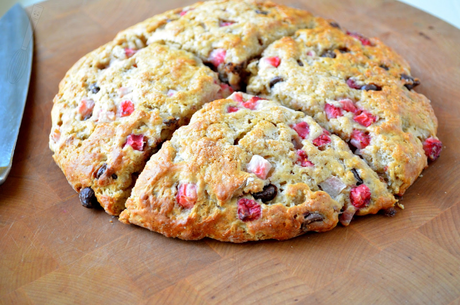 snack cake low fat strawberry scones strawberry ricotta scones ...