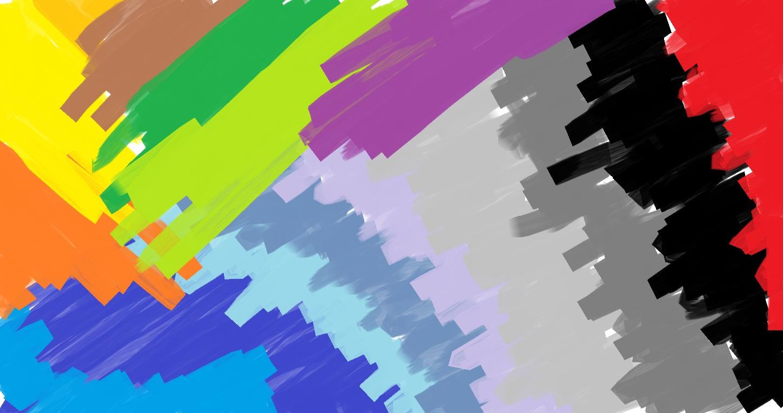 """Gambar ini adalah karya sayah yang dibuat memakai """"Paint"""" di Windows 7 ..."""