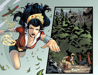 DC Comics Bombshells #12 page 5 featuring Wonder Woman