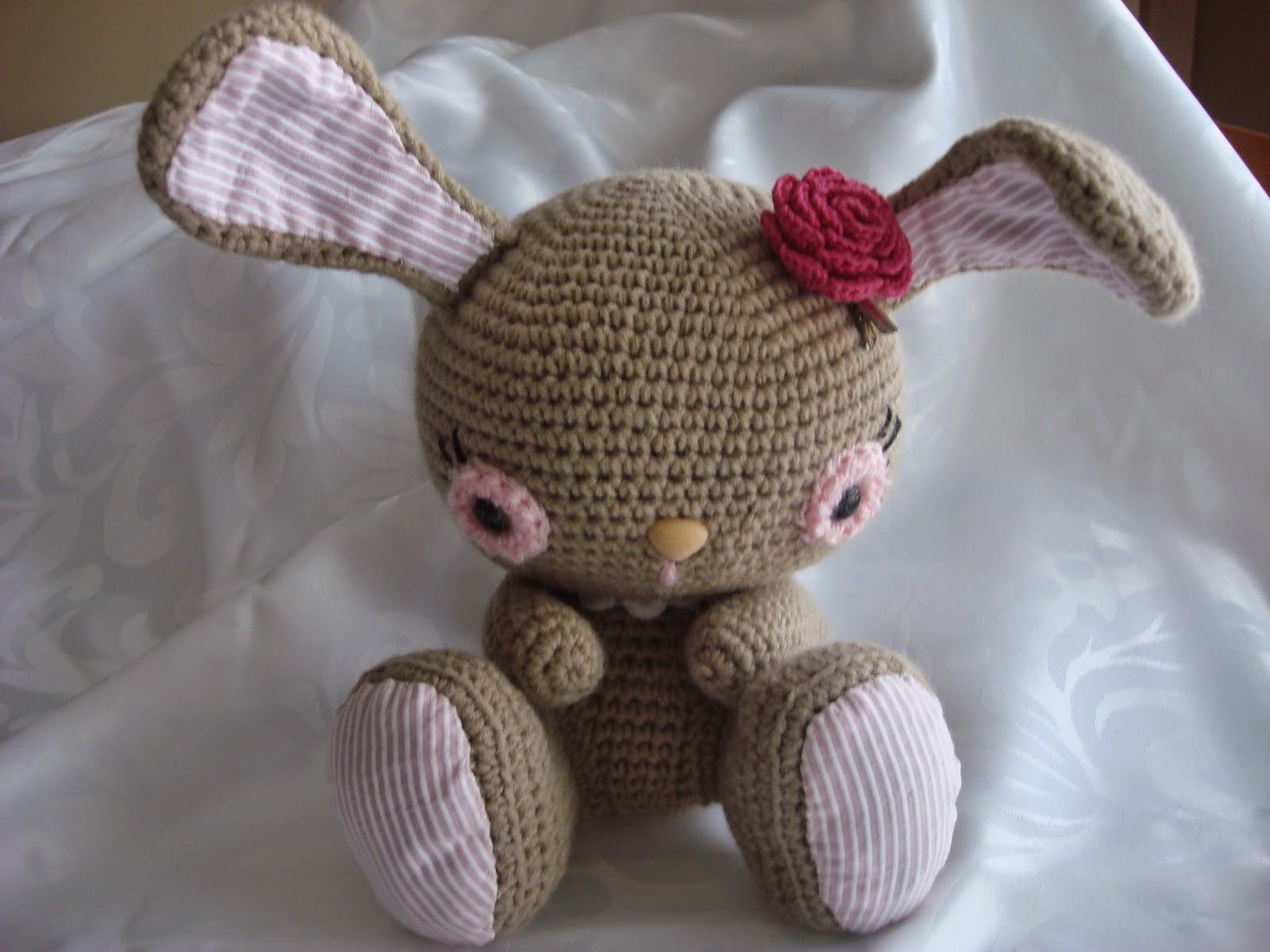 Amigurumilacion : Canal crochet: conejita amigurumi