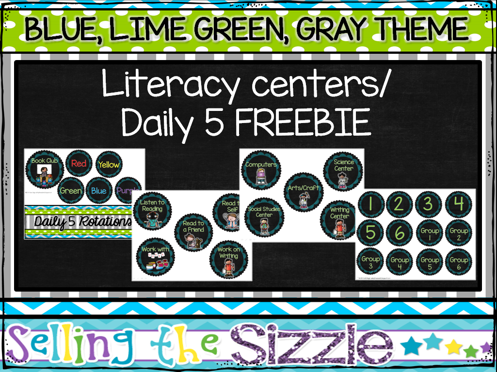 http://www.teacherspayteachers.com/Product/Literacy-CenterDaily-5-rotation-board-FREEBIE-1346557