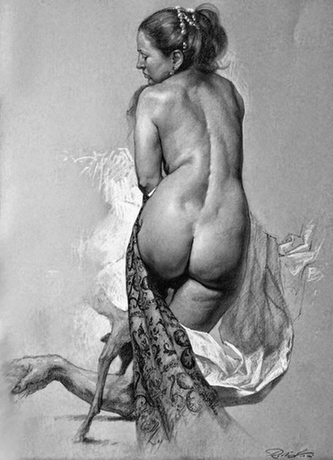 dibujo-mujer-desnuda-de-espalda