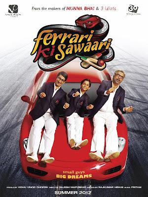 Ferrari Ki Sawaari Movie Posters