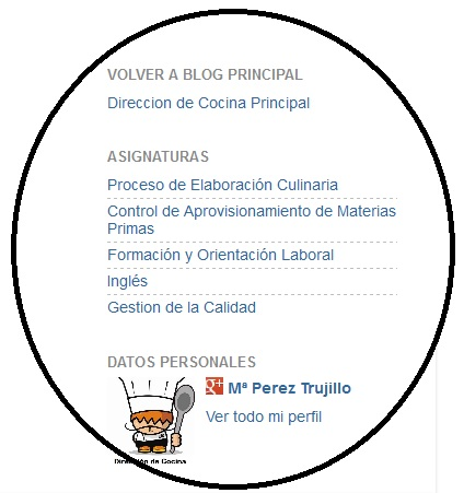 Direccion de cocina m perez trujillo octubre 2012 - Direccion de cocina ...
