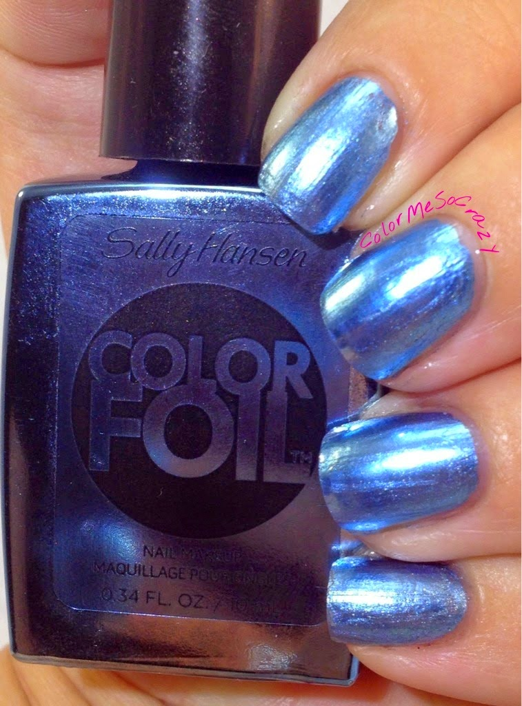 A review of Color Foil metallic polish from Sally Hansen.