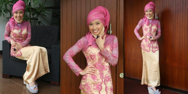 Image result for gaun tradisional hijab