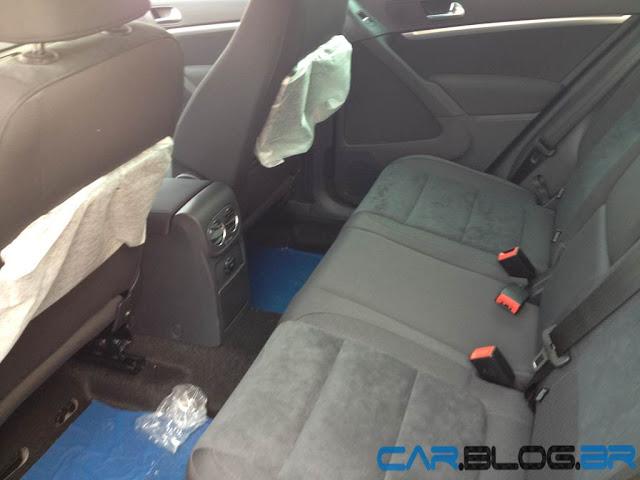 VW Tiguan 2013 - bancos traseiros