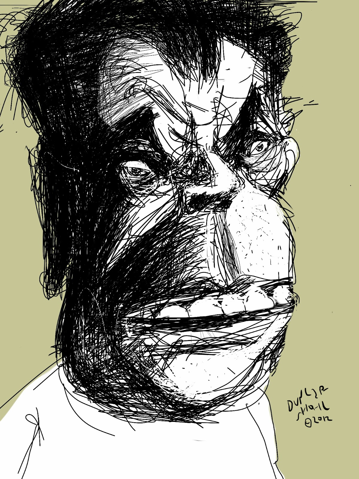 Frozen Grin Not Drawing Jack Nicholson Is Harder Than Drawing Him
