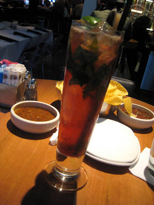 Strawberry Mojito at Cantina Laredo in Chicago, IL - Photo by Michelle Judd of Taste As You Go