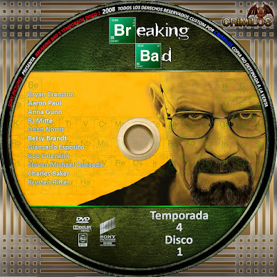 Breaking Bad Temp4 DVD COVER - CoverDVDgratis !!!