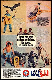 propaganda Falcon da Estrela - 1978. Reclame anos 70. os anos 70; propaganda na década de 70; Brazil in the 70s, história anos 70; Oswaldo Hernandez;