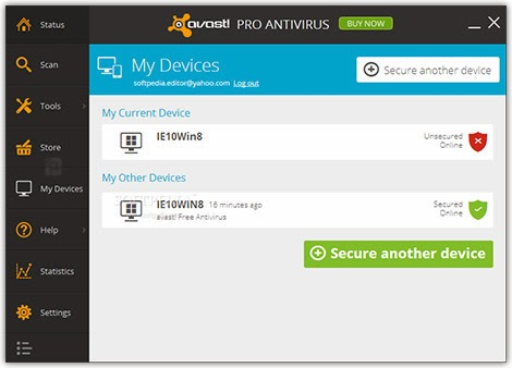 how to kill viruses in chest avast