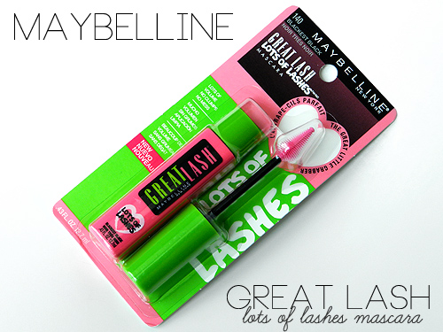 Maybelline lots of lashes