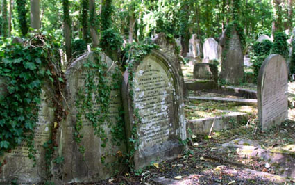 Highgate Cemetery Escape
