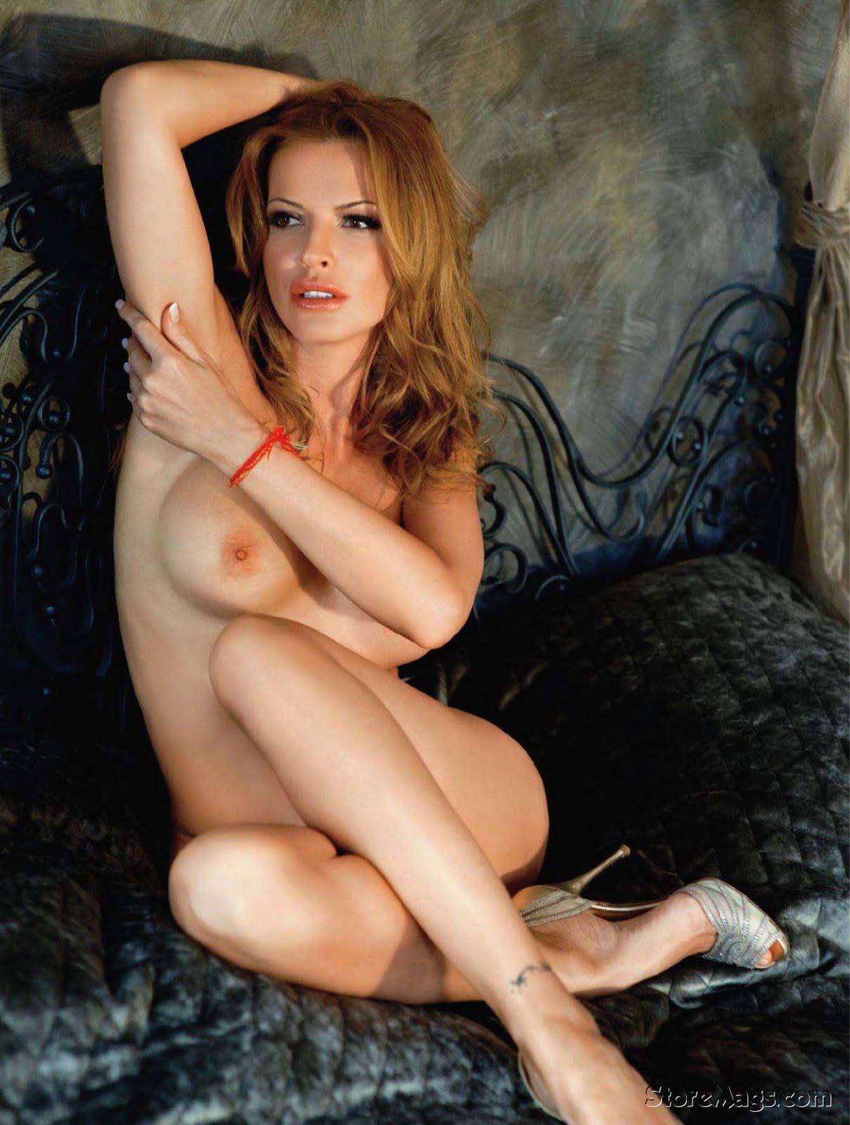 Nude Olga Rodionova on Playboy