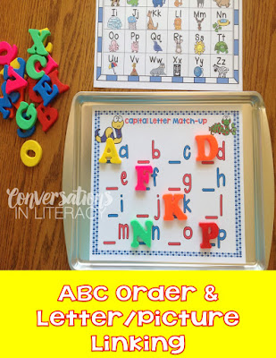 Activities to Build Quick Letter Recognition & Fluency