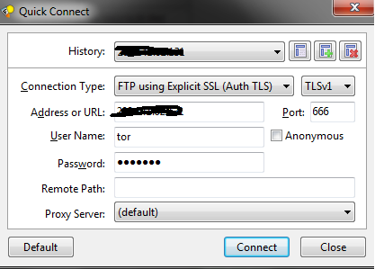 FTP Login