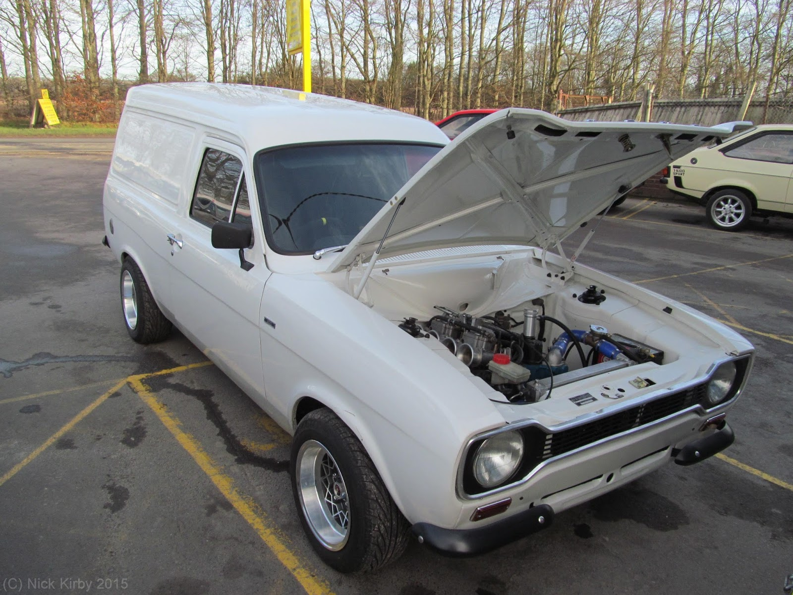 Kirby\'s Car Blog: Mk1 Ford Escort Van