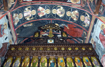 Arnota Monastery, Oltenia - mural paintings