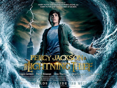 Percy Jackson & The Olympians: The Lightning Thief: Logan Lerman  |  A Constantly Racing Mind