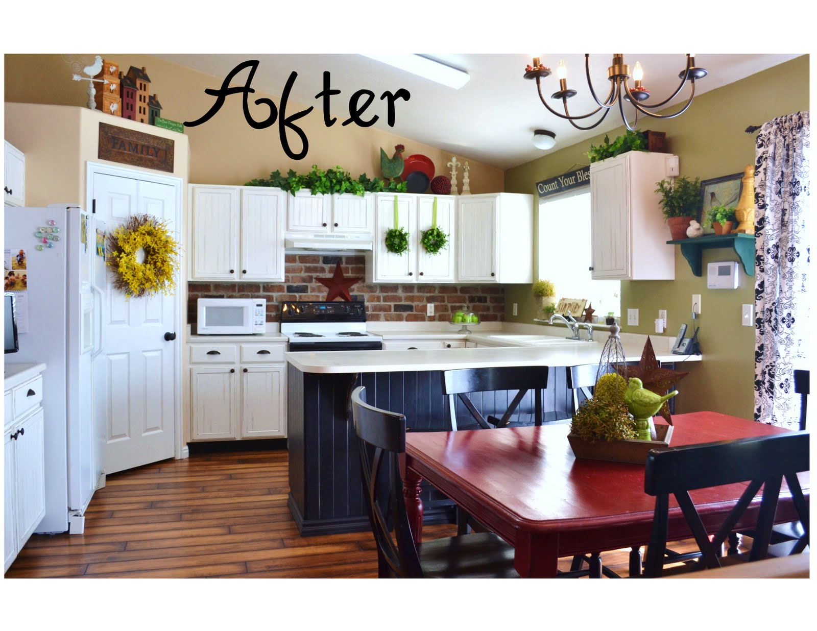 can be viewed on her blog at ~ Lemonade (Jeralyn) Kitchen Makeover