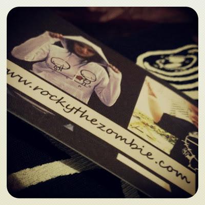 Rocky The Zombie business card 2 Kat Sick