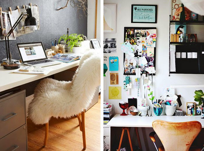 24 Small And Beautiful Home Offices And Work Spaces ~ Interior Design  Inspirations For Small Houses