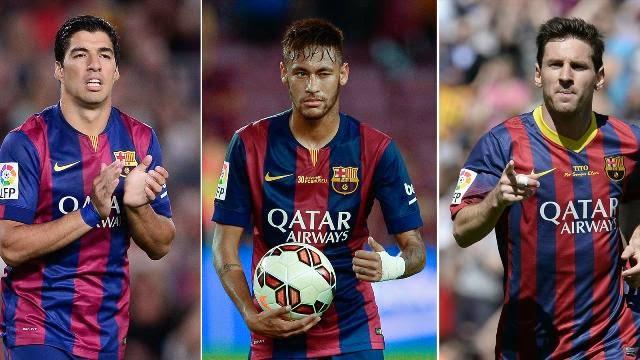 سواريز : سعيد باللعب بجوار افضل اللاعبين في العالم