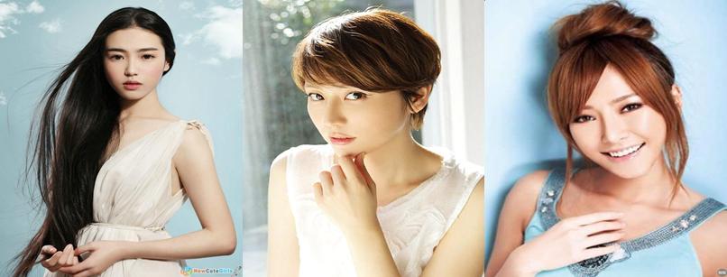 Foto Trend Warna Rambut Cewek Asia 2015 Model Indonesia Malaysia