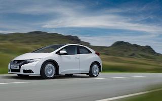 2012 Honda Civic hatcback white EU version
