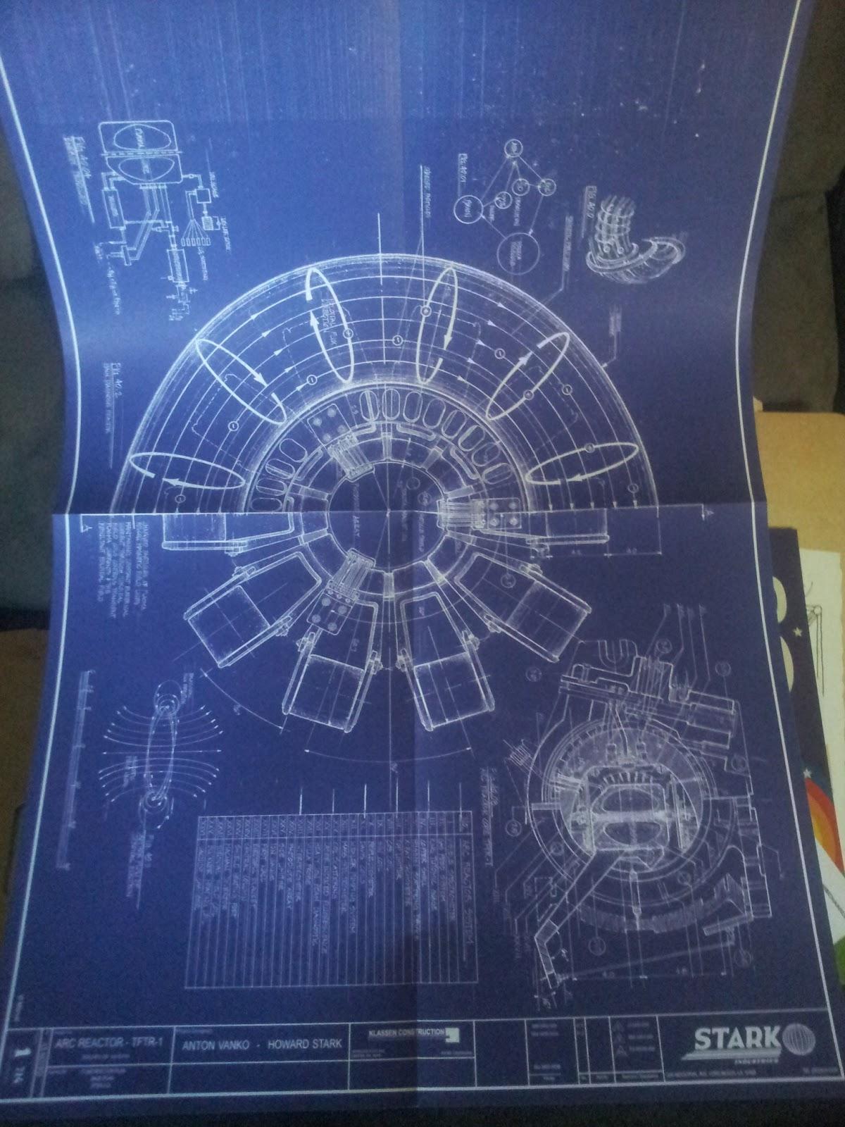 Arc Reactor Schematics - Arcreactorx the intuitive ironman ...