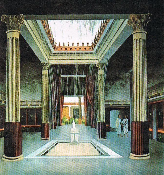 Loyola university medieval studies center internship the gardens of pompeii - Maison romaine antique ...