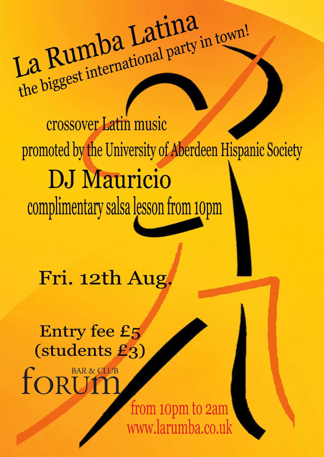 Salsa Night Forum Aberdeen
