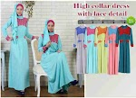 Gamis Spandex Brukat SOLD OUT