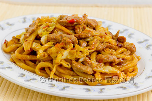 上海粗炒麵 Shanghai Fried Noodles02