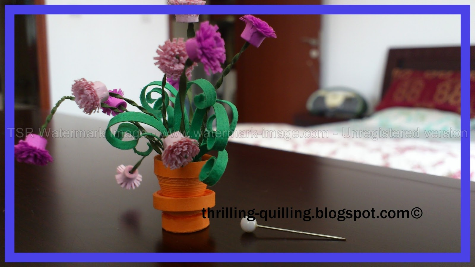 My 3D Quilling Homework