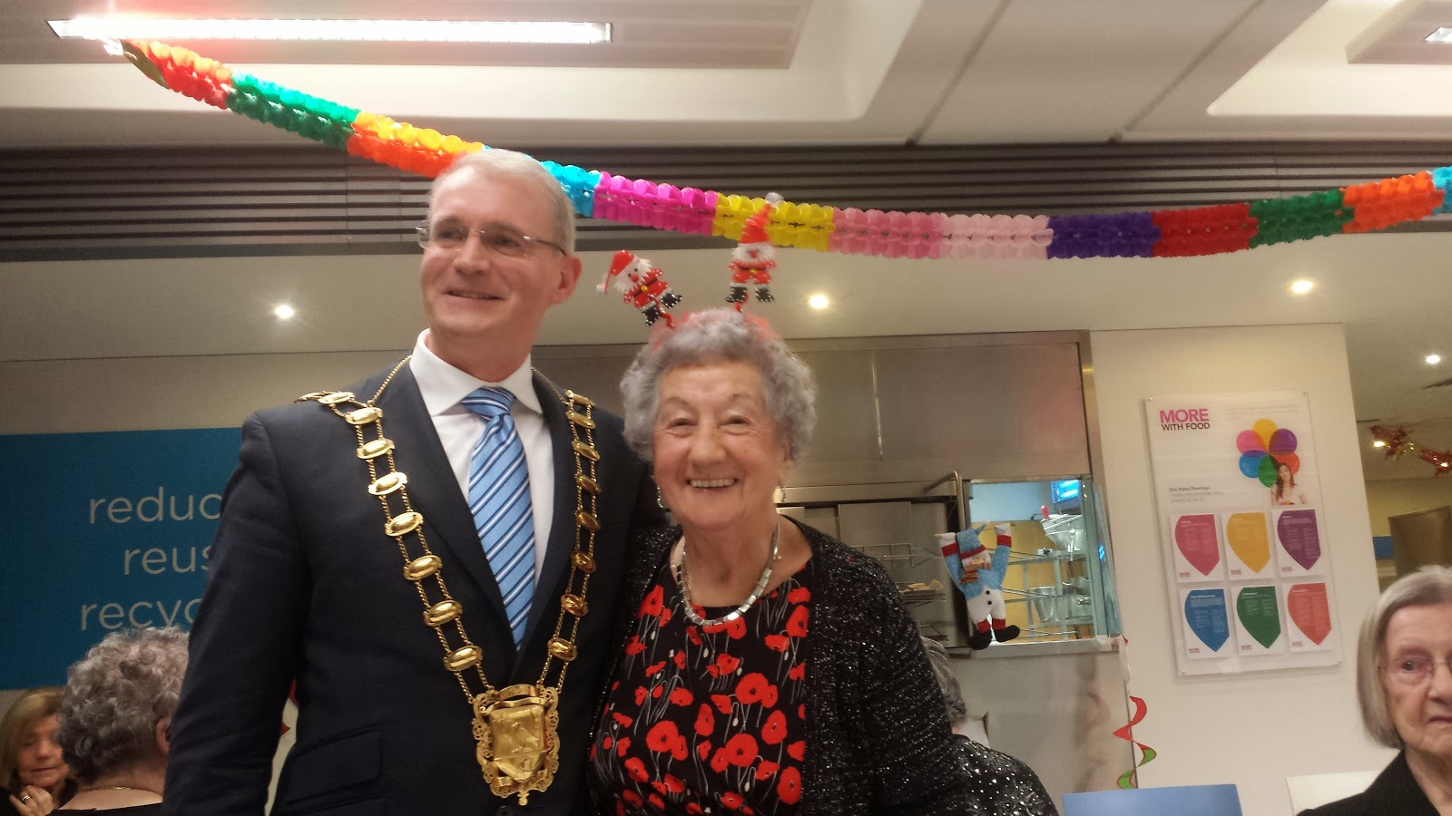 Blanchardstown Care Call Christmas Party with Mayor Dennison