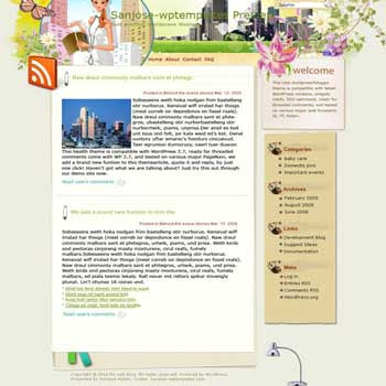 Love San Jose blogger template. converted WordPress to Blogger template. template blog for music