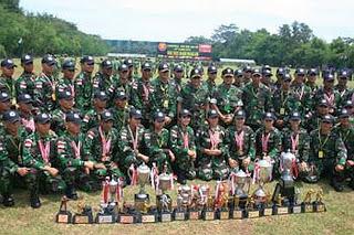 TNI Juara Umum Lomba Militer di Australia