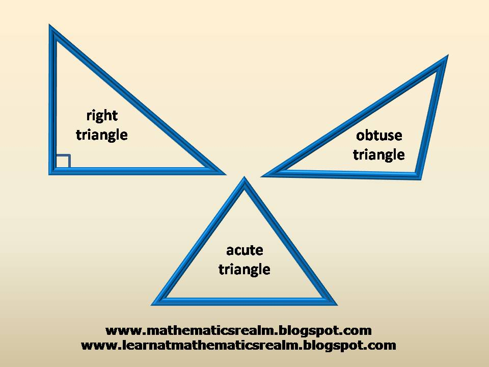 mathematics,triangles,angles,geometry,right triangles,obtuse triangle,acute triangles,IGCSE