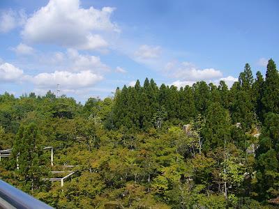 京都府・けいはんな記念公園 水景園 観月橋から見た風景