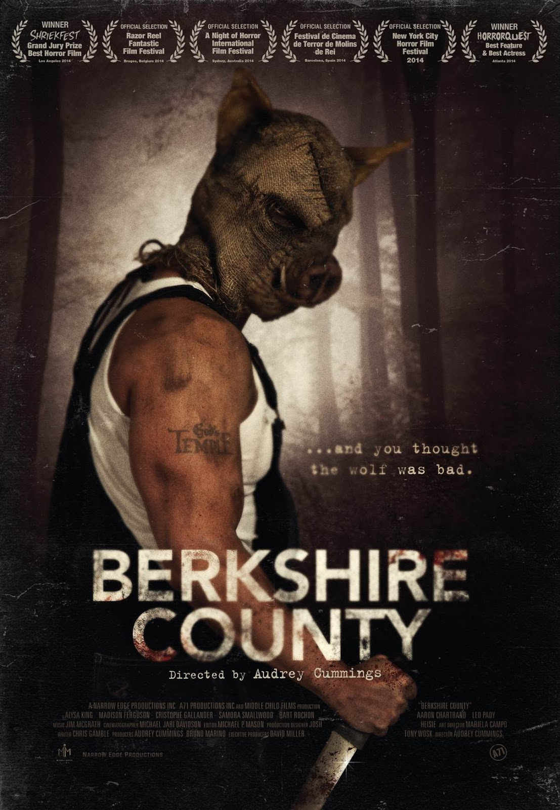 The Horrors of Halloween: BERKSHIRE COUNTY (2014) New Poster and ...