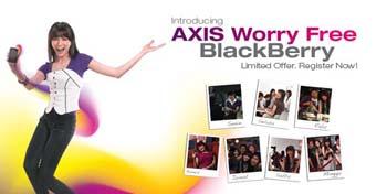 Layanan BlackBerry AXIs Kini Rp 79.000,- /bulan