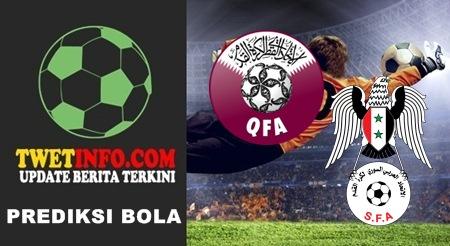 Qatar U23 vs Syria U23