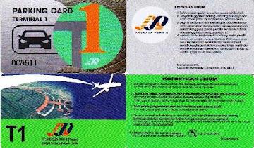 Terminal1 Parking Card