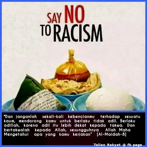 ISLAM ABHORS RACISM